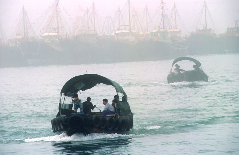 Hong Kong, Chung, Chau, taxi