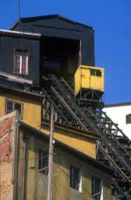 Chile, Valparaiso, ascensor los Lecheros, transportes