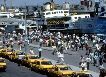 Estambul, Bósforo, puerto