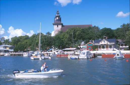 Finlandia, Archipiélago de Turku, Naatali