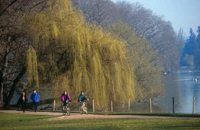 Francia, Lyon, Parque de La Tet d´Or