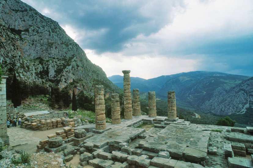 Grecia, Peloponeso, Delfos