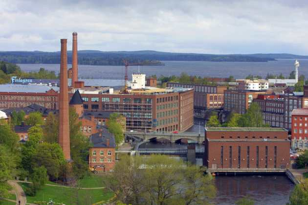Finlandia, Tampere, Polígono Industrial Frenckell
