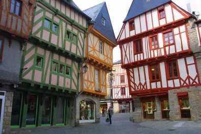 Bretaña, Vannes,Ciudad Medieval