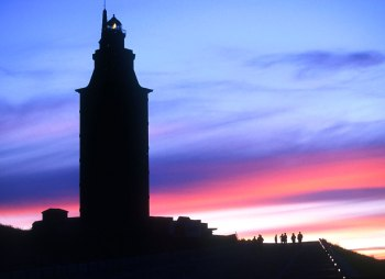 Galicia, Faro de Hercules