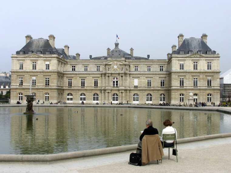 París, Jardines de Luxemburg
