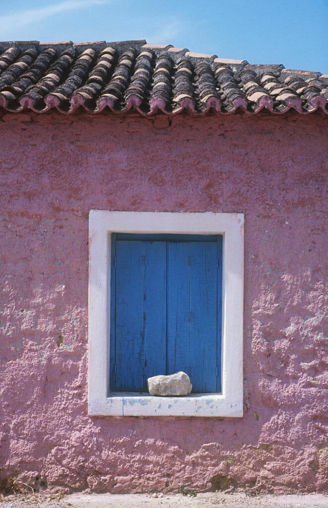 Grecia, Peloponeso, Isthmia, Ventana