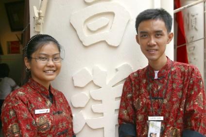 Singapur, Chinatown, Guías del Centro del Patrimonio de Chinatown, retrato