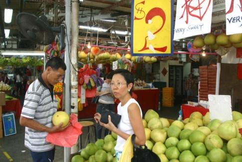 Singapur, Bugis Village, mercado
