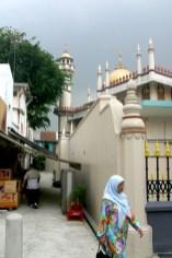 Singapur, barrio de Arab Street, Mezquita del Sultan Masjid