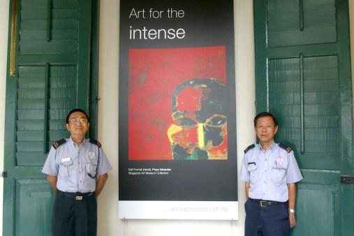 Singapur, Museo de Arte Guardianes