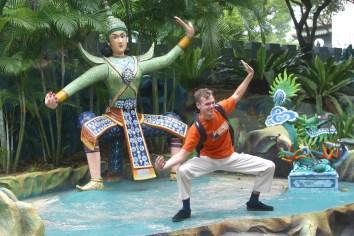 Singapur, Haw Par Villa, Parque Mitología China