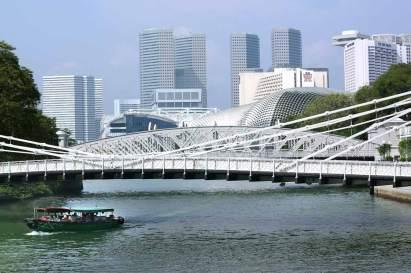 Singapur, Puente Anderson, Río Singapur
