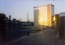 Orbit House, seen from The Cut. 1980s. NSCGA collections