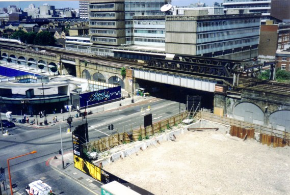 Building of Southwark Station and Palestra. NSCGA collections