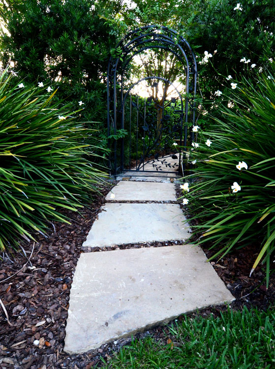 Pathways entryways drylaid  mortared path  Tampa FL