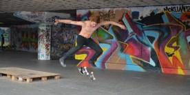Skateboarder Bck 5
