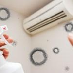 エアコンがかび臭い原因は何?人体に影響はあるの?対処方法はどうしたらいい?