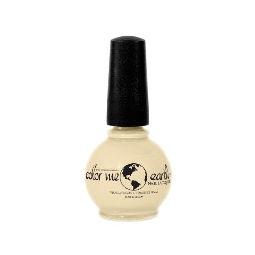 color earth nail polish coconut ivory