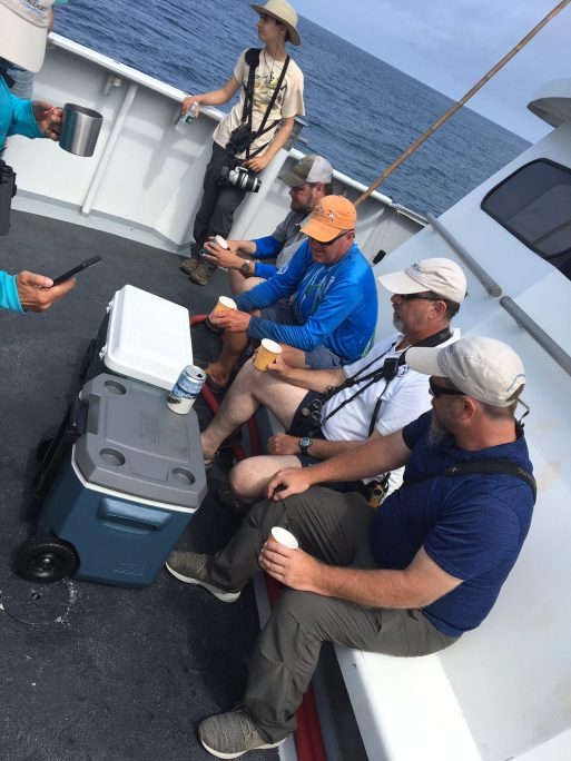 Beers on the bow