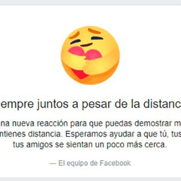 Nueva reacción en Facebook