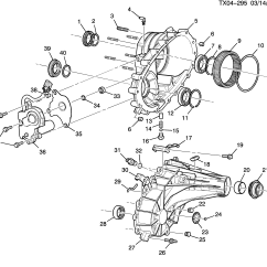 2002 Chevy Suburban Parts Diagram Power Switch Wiring Cadillac Escalade Esv Awd K2 3 Caja De Transferencia