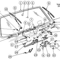 Ford Sierra Wiper Wiring Diagram Starter Motor Relay G10 Van System Windshield Gt Chevrolet Epc Online