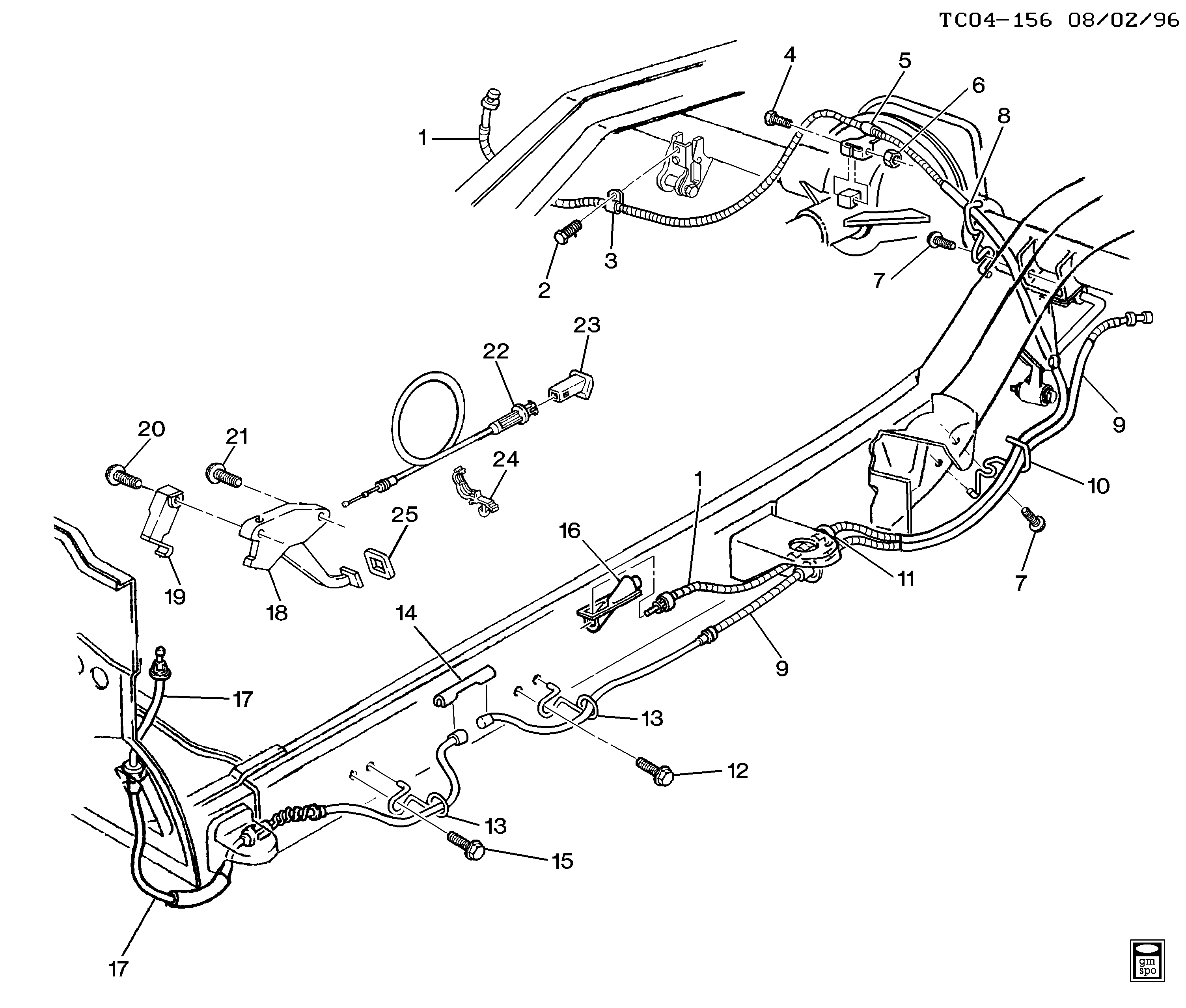 Chevy Hd Brake Line Diagram