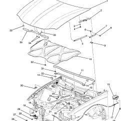 2002 Chevy Impala Parts Diagram Floating Deck Framing Hood Gt Chevrolet Epc Online Nemiga