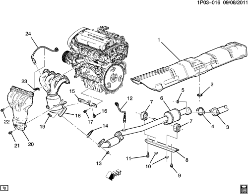 small resolution of catalytic converter clogged what do i do penny arcade 2013 chevy malibu 2 5l engine diagram