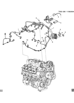 Ls2 Engine Wiring Harness Diagram Oil Filter Housing