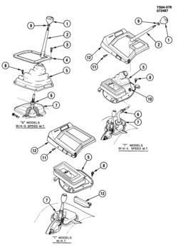 S10 Transfer Case Vacuum Lines 4x4 S10 T-Case Vacuum Lines