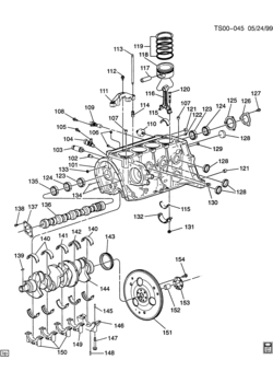 Gmc Envoy 4 2l Engine GMC Envoy Engine Diagram Wiring