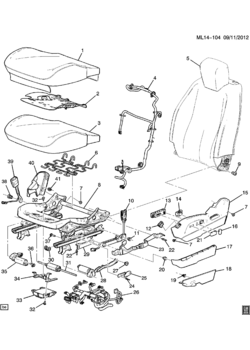 Gm Seat Belts GM Seat Parts Wiring Diagram ~ Odicis