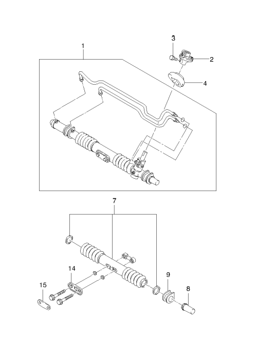 small resolution of steering gear parts ii 4930