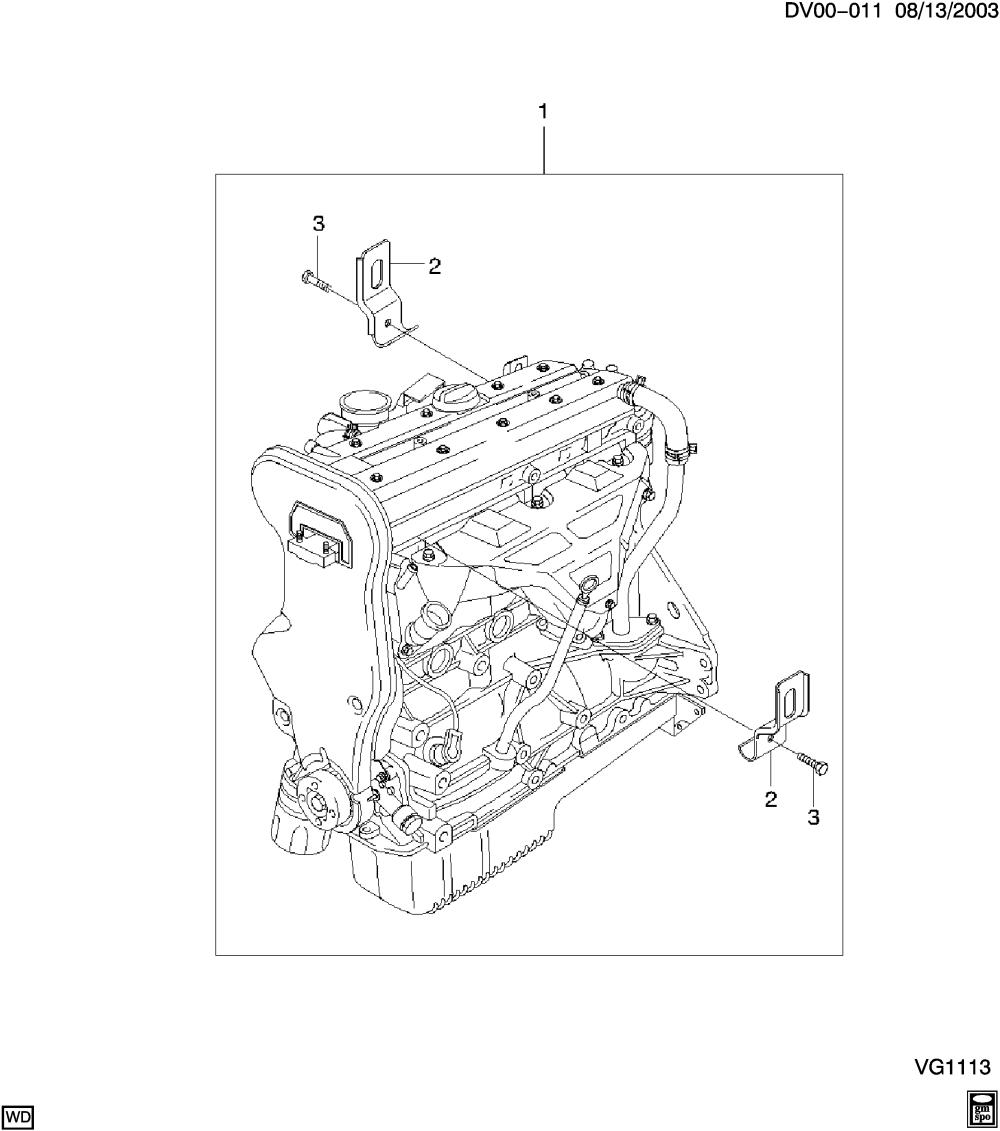 medium resolution of epica non canada and us engine asm 2 0l l4 chevrolet epc online nemiga com