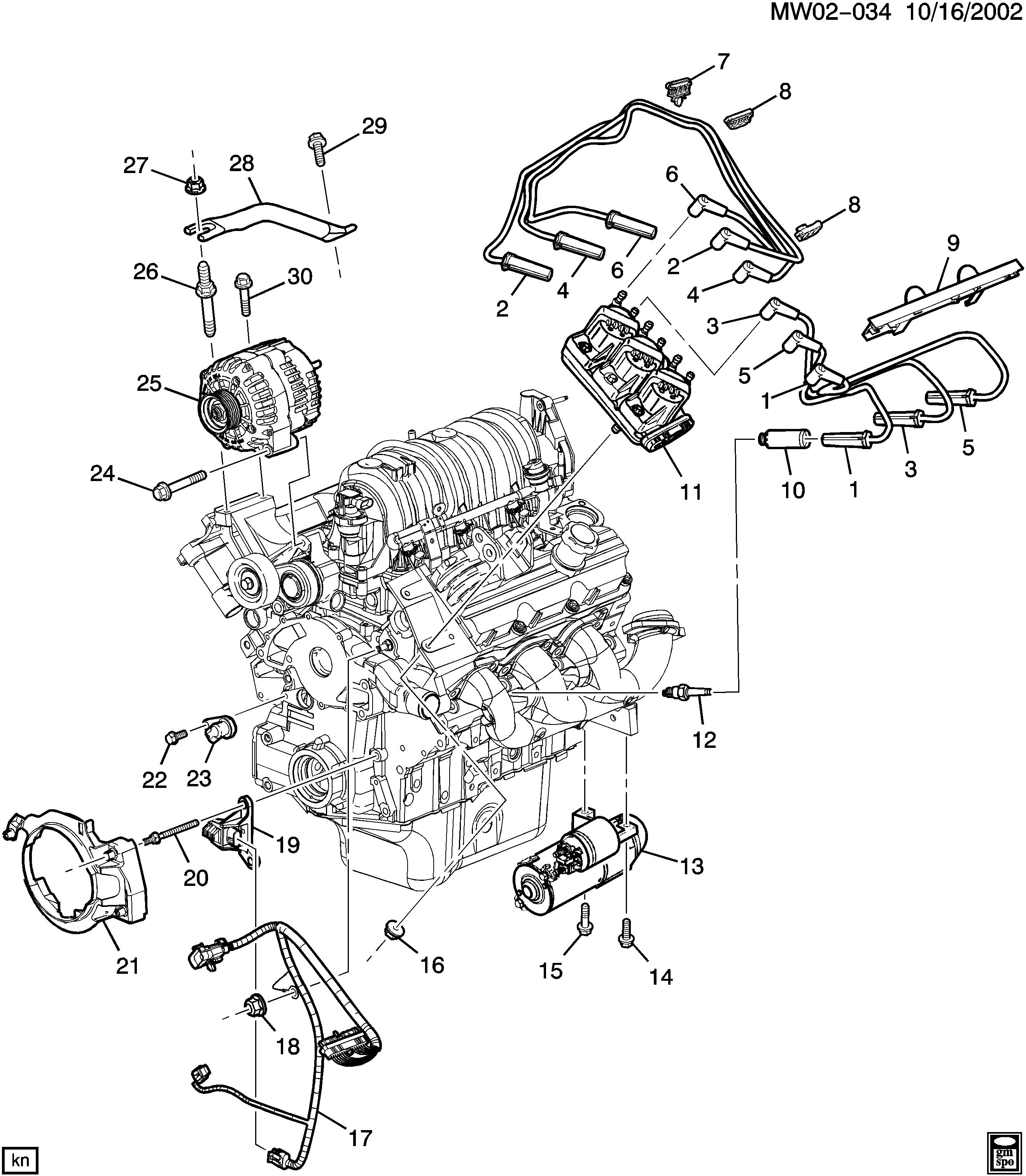 Gm Engine Diagram