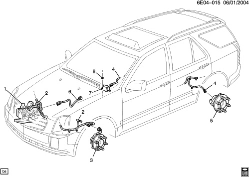 small resolution of cadillac srx tail light wiring diagram