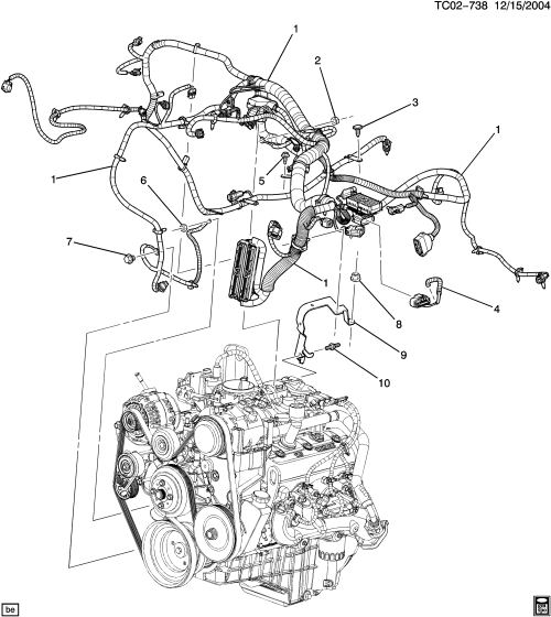 small resolution of c3 wiring harness engine l31 5 7r