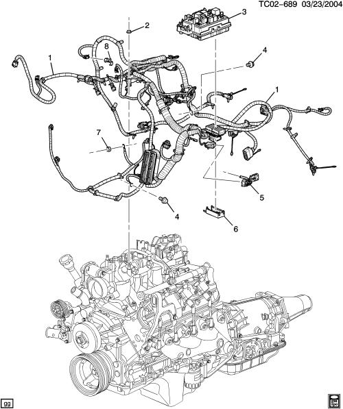 small resolution of ck wiring harness engine lm7 5 3t lr4 4 8v lq4 6 0u l33 5 3