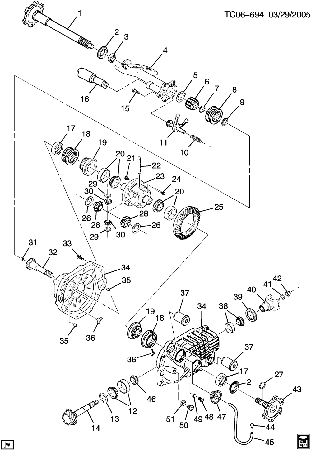 medium resolution of avalanche 1500 4wd differential carrier front axle part 2 8 25 tundra front axle avalanche front axle schematic