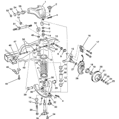 2002 Chevy Trailblazer Front Axle Diagram Ford Taurus Rear Suspension Blazer 2wd Gt Chevrolet Epc