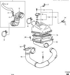 pontiac vibe engine diagram intake wiring diagram databasepontiac vibe sm26 air intake system 1 8 [ 2747 x 3032 Pixel ]