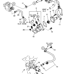engine coolant thermostat housing geo storm spare parts catalog epc [ 2531 x 3087 Pixel ]