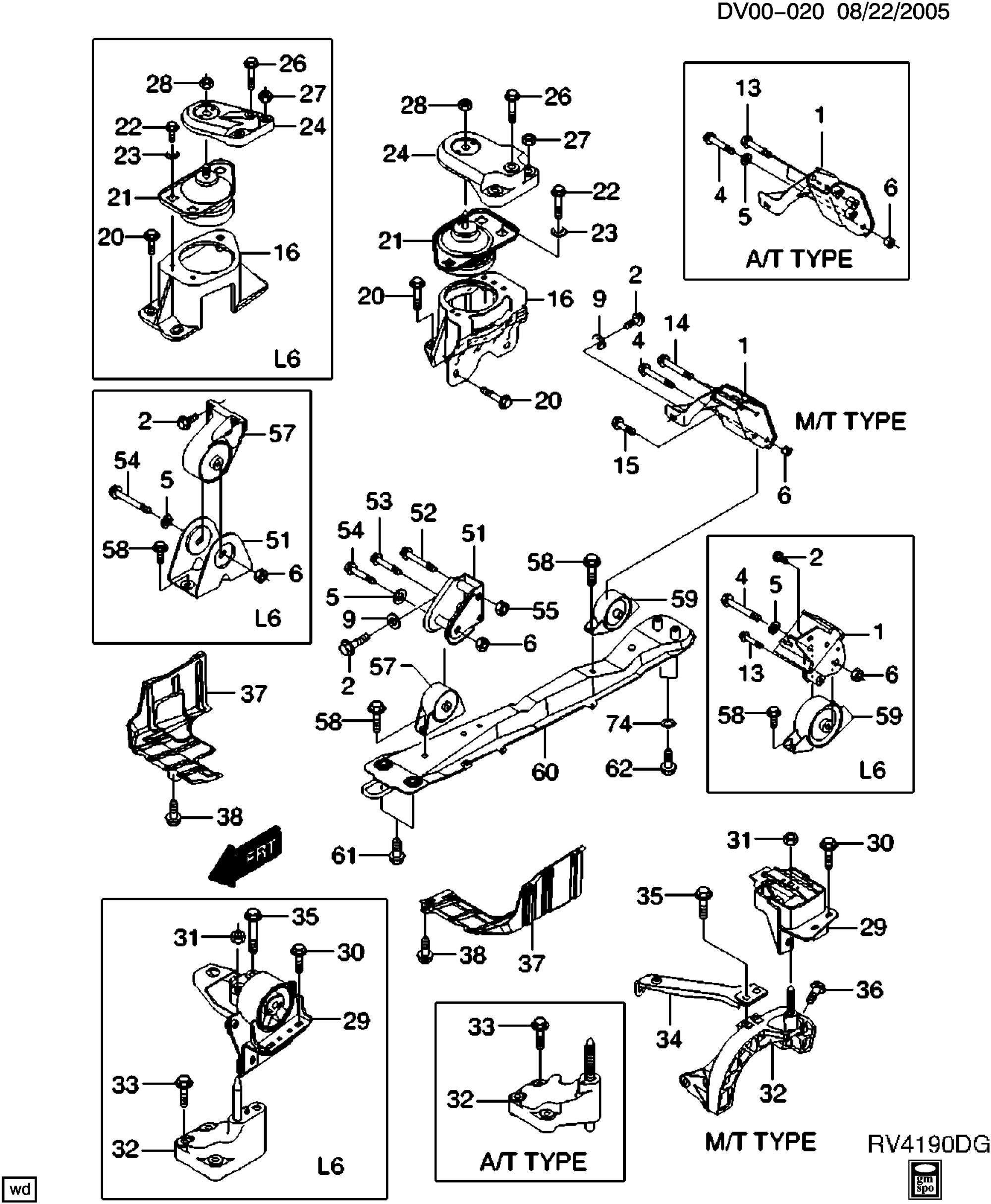 hight resolution of epica non canada and us engine mounting chevrolet epc online nemiga com