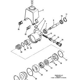 gm power steering pump diagram [ 2552 x 3246 Pixel ]