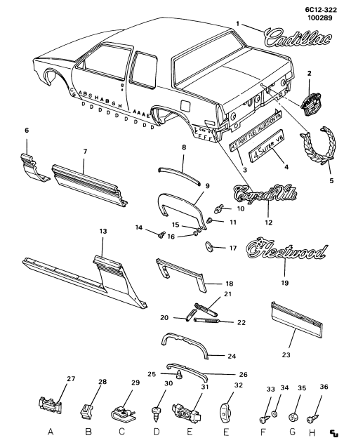 small resolution of cadillac deville spare parts catalog epc