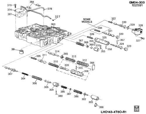 small resolution of gm automatic transmission diagram lumina