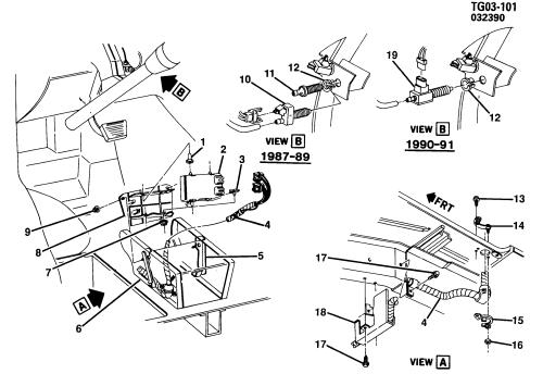 small resolution of g10 van e c m module wiring harness chevrolet epc online nemiga com