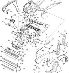 pontiac sunfire j67 sheet metal front end u003e epc online u003e nemiga com 2001 sunfire engine diagram pontiac sunfire parts diagram [ 2957 x 3372 Pixel ]